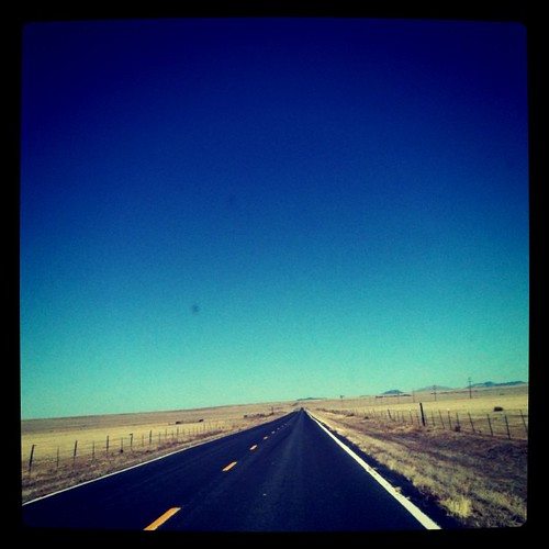 Open road, New Mexico edition