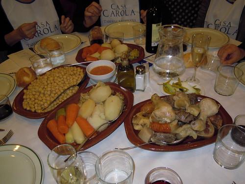 Madrid | Casa Carola | Bandejas de viandas