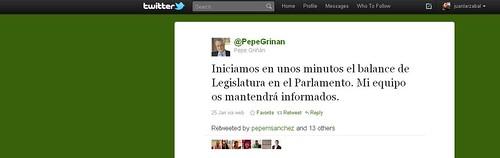 Twitter Griñán
