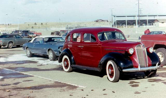 1937 plymouth 4 door sedan with a 1968 chevrolet camaro rs for 1937 plymouth 4 door sedan