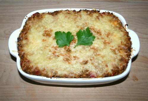 34 - Kritharaki-Auflauf / Kritharaki casserole - Fertig