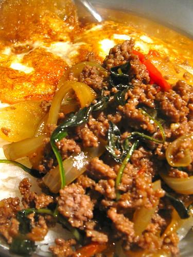 Fried Minced Beef with Thai Sweet Basil Singlish Swenglish