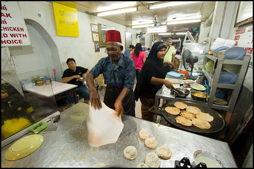Roti Shop on Thalang Road