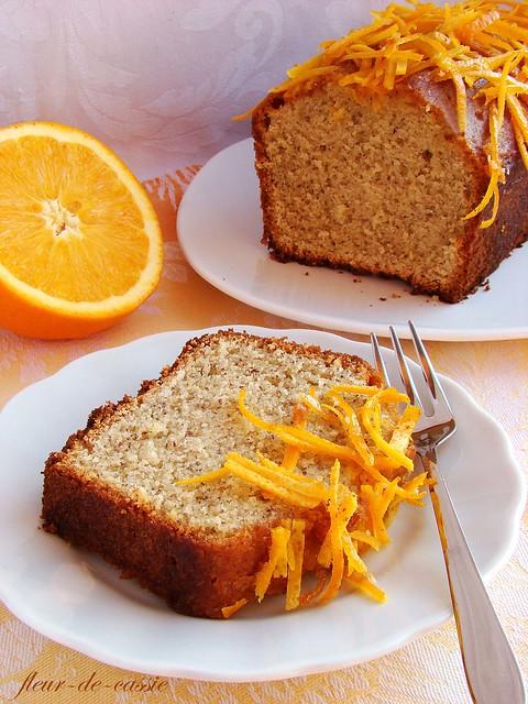 апельсиново-миндальный кекс 5