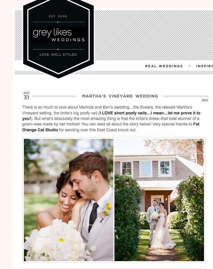 Press: Grey Likes Weddings