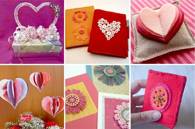 A Bouquet (as it were) of Past Valentine Tutorials