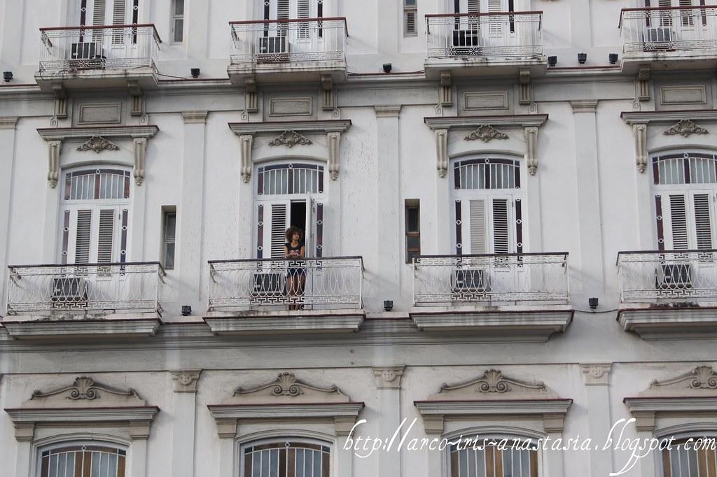 Mysterious mulata in Hotel Inglaterra