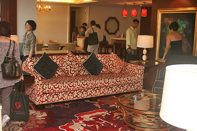 At Maxims, the presidential suite is called The Mansion
