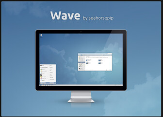 wave theme pour windows 7