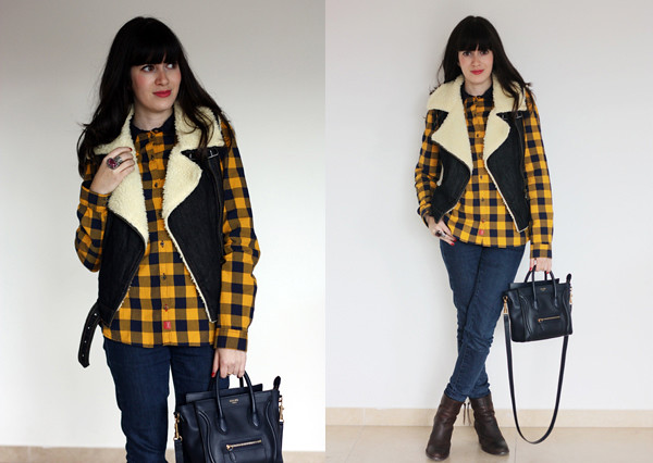 shearling_vest_plaid_shirt_celine_bag1