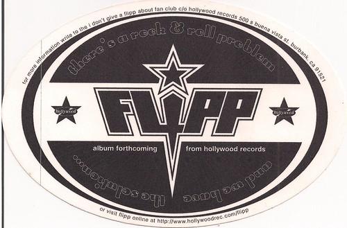 Flipp Sticker Back
