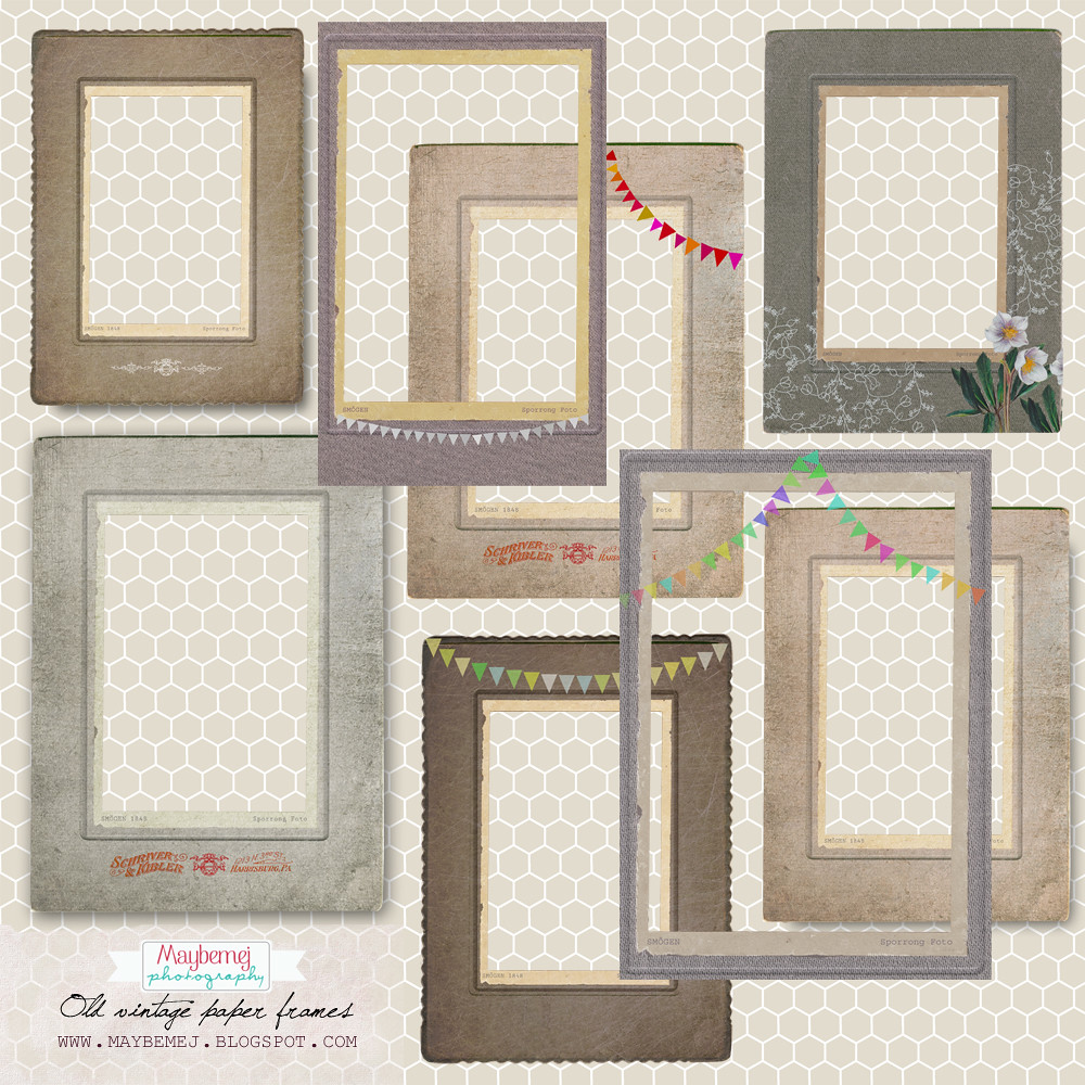 freebie- vintage-paper-frame-badge