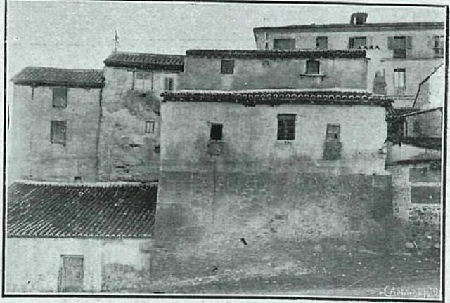 Mesón del Sevillano en 1919. Fotografía de Pedro Román Martínez o Castella