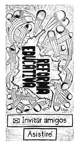 Reforma educativa - Poster