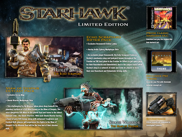 Starhawk for PS3: Limited Edition