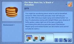 Om Nom Nom Inc.'s Stack o' Hotcakes
