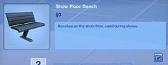 Show Floor Benches