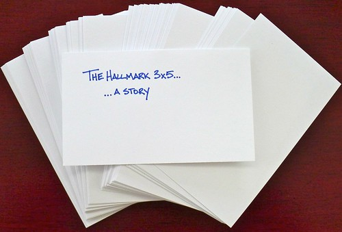 The Hallmark 3 X 5 Index Card The Pen Addict
