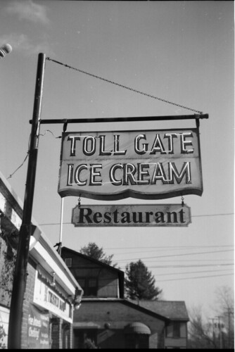 Toll Gate Ice Cream, February 2012