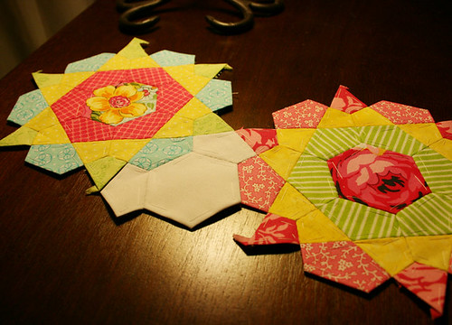 rose star quilt 1