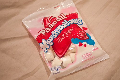 Plain vanilla marshmallows
