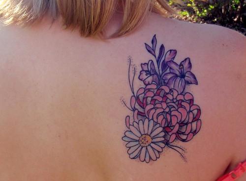 Birth Flower Tattoos: Tattoos Representing Your Kids?