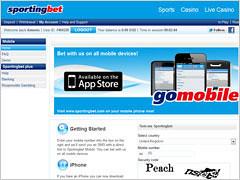 Sportingbet Mobile Betting