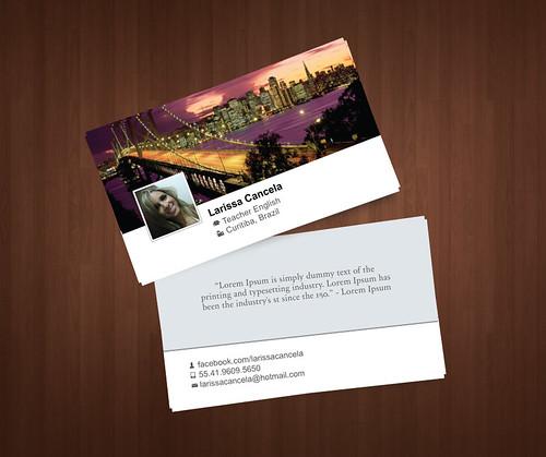 Cartão de visita by chambe.com.br