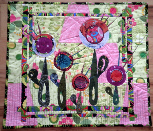 ENTRY 'Quilter's Garden' Project QUILTING Season 3, Challenge 3