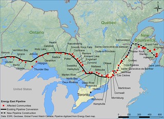 Map: Energy East East