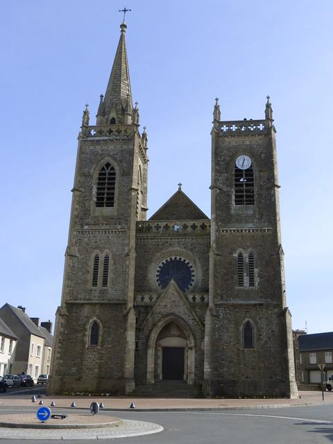 067 L'église Saint-Jean-l'Évangéliste, La Haye-du-Puits