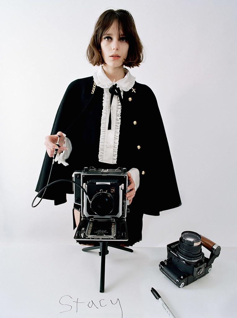 Стэйси Мартин — Фотосессия для «Vogue» UK 2016 – 1