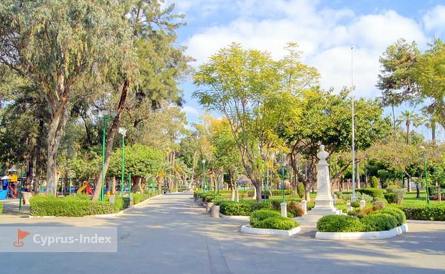 Муниципальный парк города Лимассол Кипр