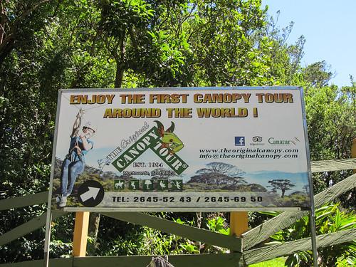 Santa Elena: c'est parti pour un super parcours de tyroliennes !