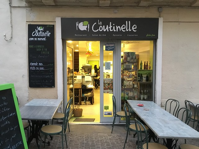 La Coutinelle gluten-free restaurant Montpellier France