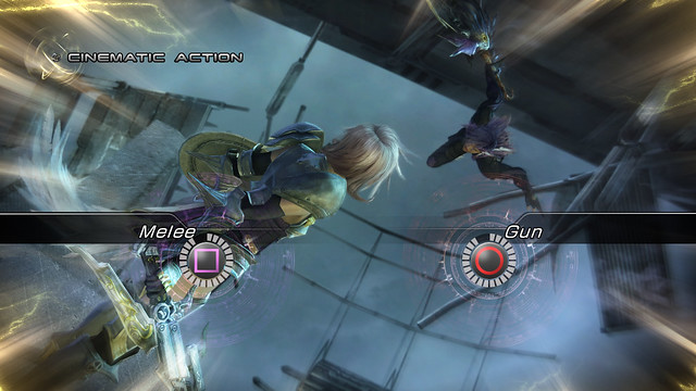 Final Fantasy XIII-2 - Cinematic Action Sequences