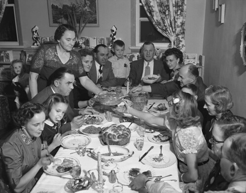 Ukrainian Christmas Feast by glenbowmuseum