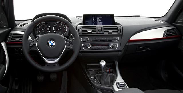 BMW F20 interior