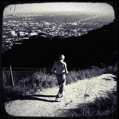 Running down that hill