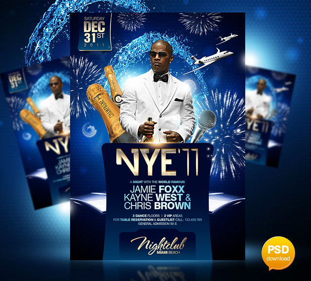 New Year's Eve Party Flyers