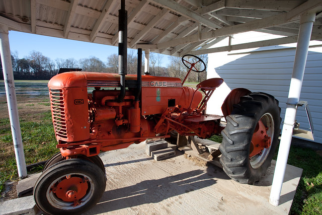 1947 Case Tractor : Quot vac case tractor restored flickr photo sharing