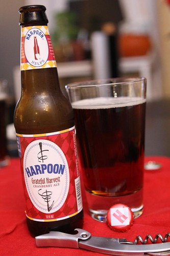 Harpoon Grateful Harvest Cranberry Ale
