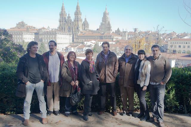 Margalida Capellà amb Juanvi Santa Isabel i chironians