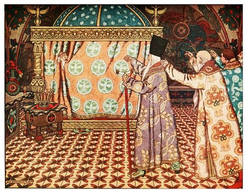 004-El pequeño caballo jorobado-Russian-wonder tales ..1912-Ivan Jakovlevich Bilibin