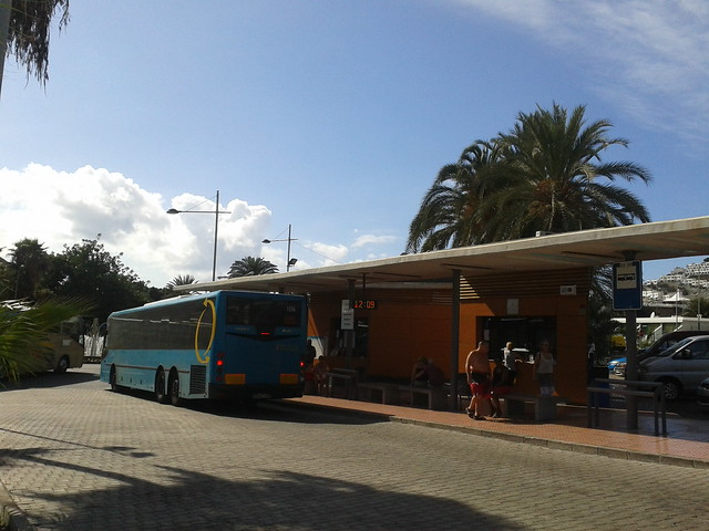 Puerto rico bus station and bus fare prices puerto rico gran canaria online guide - Taxi puerto rico gran canaria ...