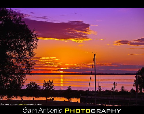 Sunset for my Canon EOS 5D Mark II by Sam Antonio Photography