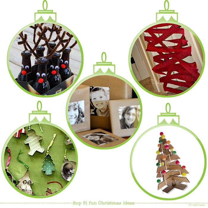 {top 5} ideas for extra fun factor at christmas