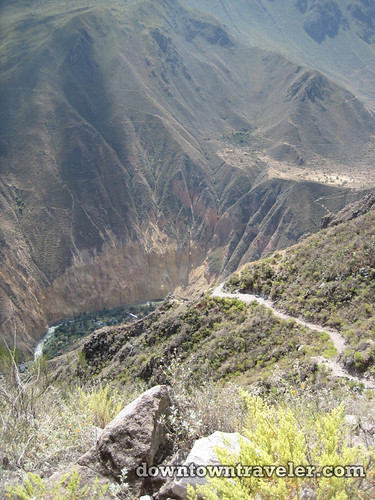 hiking colca canyon peru 10