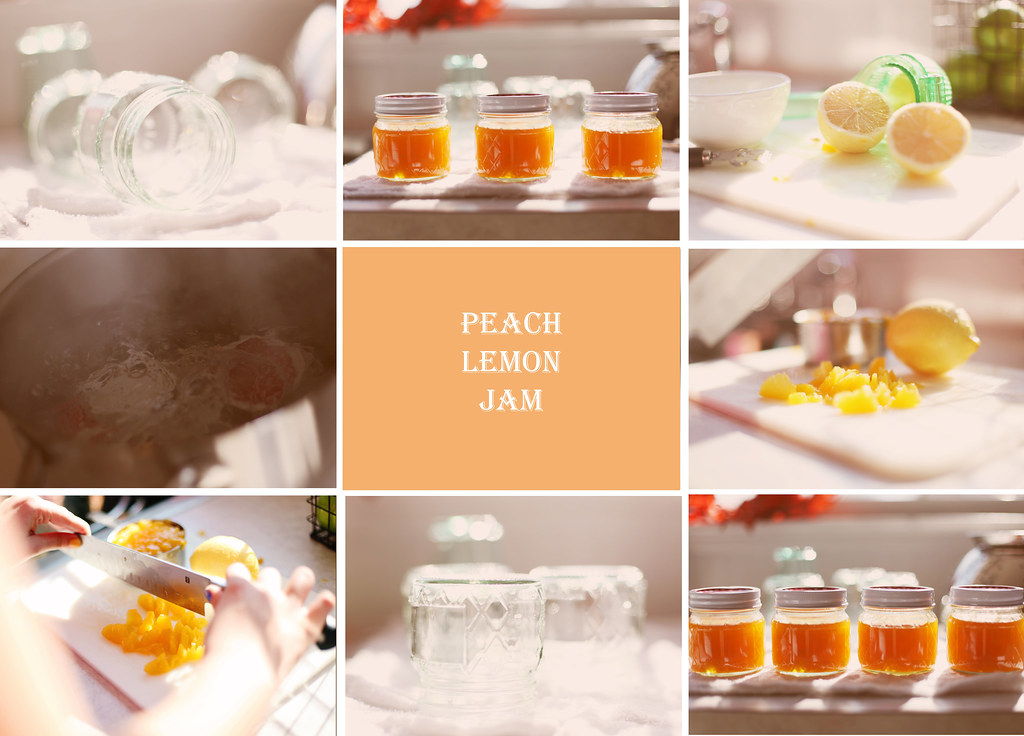 Peach Lemon Jam Blog