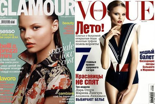 Magdalena-Frackowiak-portada-Vogue-Glamour